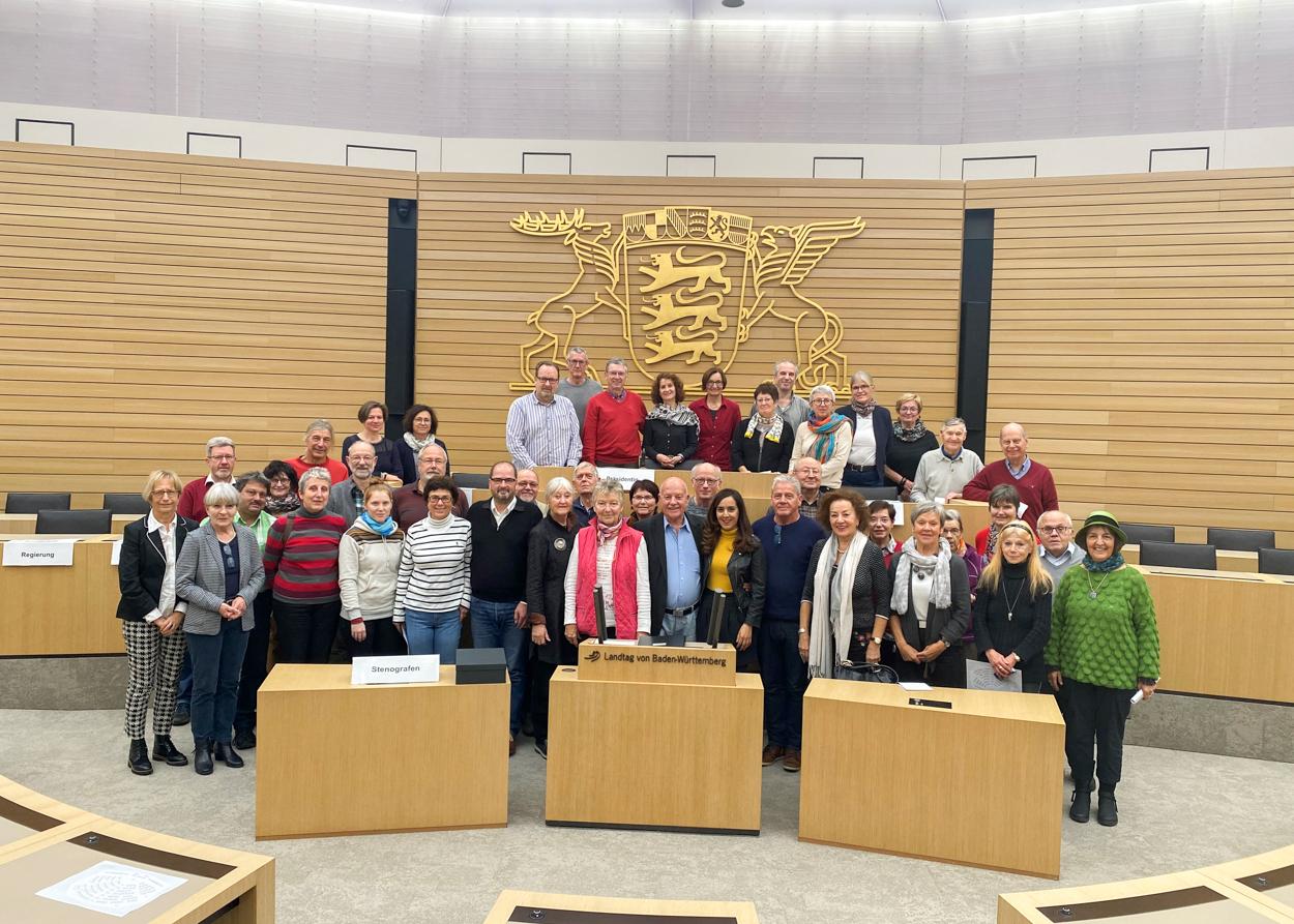 Politik hautnah im Stuttgarter Landtag erleben