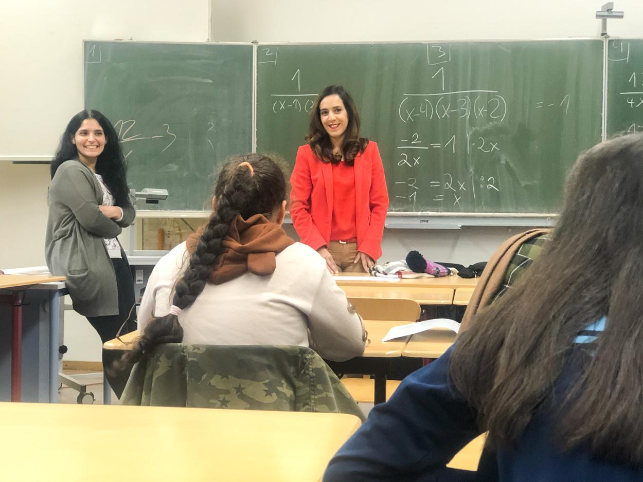 Konstanzer Kinder lernen Arabisch