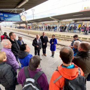 Bodenseebahngipfel mit Grünem Bahnexperten Matthias Gastel