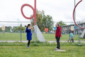 Einsatz für die Grenzöffnung in die Schweiz