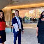 Pressemitteilung: Wahlkreisabgeordnete Nese Erikli und Jürgen Keck übergeben Petition für Harrison Chukwu an Landtag Baden-Württemberg