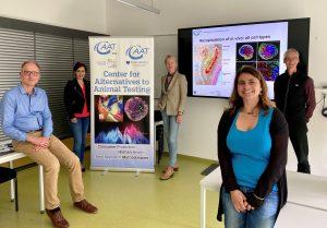 Pressemitteilung: Grüne Landtagsabgeordnete Thekla Walker und Nese Erikli zu Besuch am CAAT Europe in Konstanz