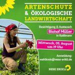 Einladung zum Besuch des Biohofs Müller in Kaltbrunn