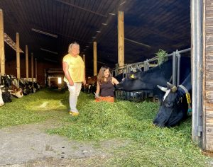 """Hof-Besichtigung in Kaltbrunn: """"An Bio führt kein Weg dran vorbei"""""""